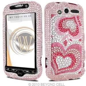 HTC MyTouch HD 4G 4 G Cell Phone Full Crystals Diamonds Bling