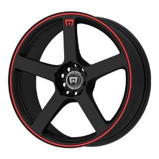 15 Inch 15x8 Konig wheels Wideopen Gloss Black w/ Machined Lip wheels