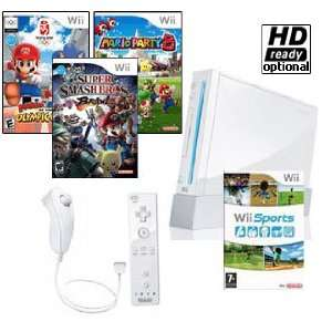 NEW Nintendo Wii System Super Mario Bundle