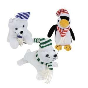 Realistic Arctic Animal Bean Bags   Novelty Toys & Plush Toys & Games