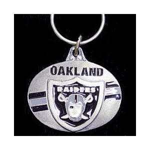 NFL Design Key Ring   Oakland Raiders