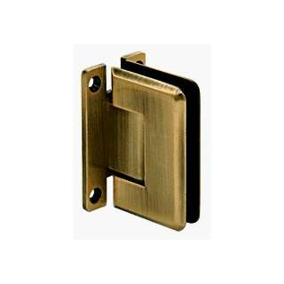 CRL Pinnacle 537 Series Antique Brass Wall Mount Full Back