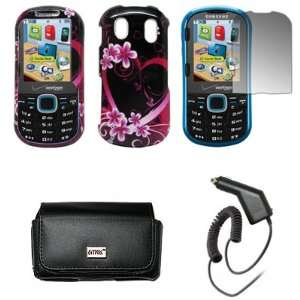 Samsung Intensity 2 U460 Premium Black Leather Carrying