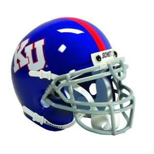 JAYHAWKS OFFICIAL FULL SIZE SCHUTT FOOTBALL HELMET