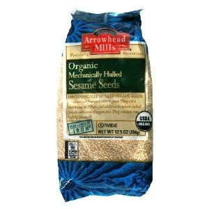 Arrowhead Mills Sesame Seeds, Hulled, 12.5 Ounce (Pack of 12)