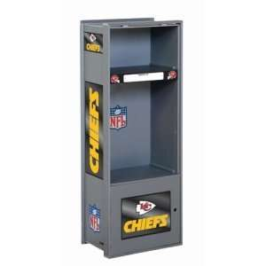 Kansas City Chiefs NFL Wood Laminate Team Locker