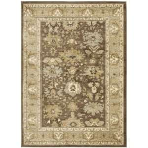 Green Area Rug, 4 Feet by 5 Feet 7 Inch