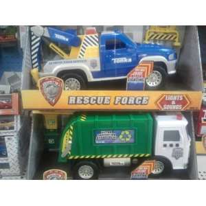 Truck AND Tonka Lights and Sounds Rescue Force Tow Truck Toys & Games