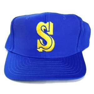MLB Seattle Mariners Royal Vintage Snapback Hat Cap