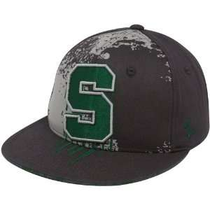 Zephyr Michigan State Spartans Gray Overspray 32/5 Fitted