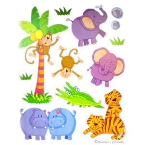 Vinyl Animal Kids Room Wall Mural Sticker Decal Wallies