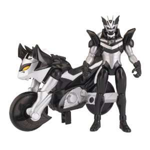 Jungle Fury Power Ranger Cycles with 5 Figure   Bat Battle Bike