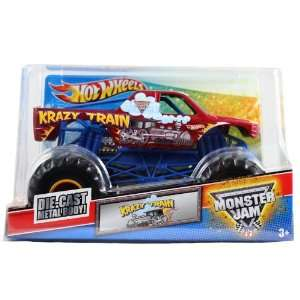 Hot Wheels Monster Jam 124 Scale Die Cast Official Monster Truck 2011