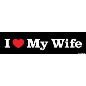 Two In Love I Love My Wife Car Decal Bumper Sticker Decal