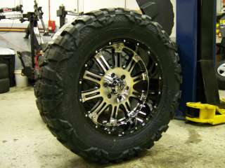 XD Hoss Black Machined 18 Nitto Mud 33x12.50 18 10 Ply