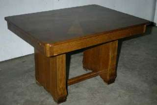 FRENCH ANTIQUE ART DECO TABLE DINING TABLE CONSOLE DESK