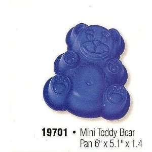Silicone Mini Teddy Bear Pan