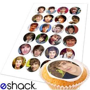 Payne 1 (one) Direction Edible Cake Toppers (Birthday Cupcake Topper