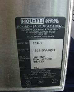 Star Holman 214HX Countertop Conveyor Pizza Oven