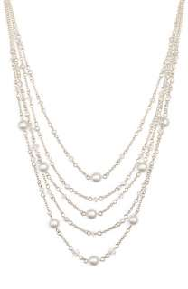 Crystal Collection Pearl & Swarovski Crystal Necklace