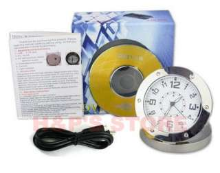 Clock Motion Detection DVR Record Spy Hidden Camera DV