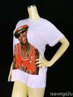 TYGA T shirt, Lil Wayne HIP HOP Rap ROCK, White S M & L